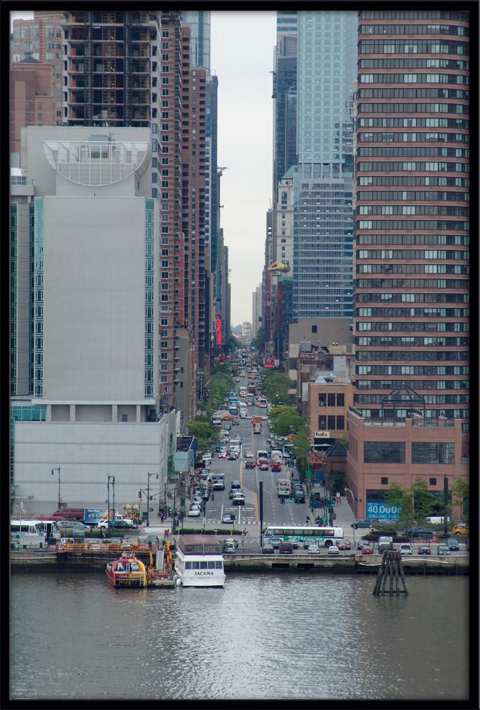 Häuserschlucht in NYC