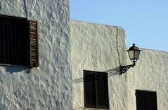 Häuserwand in Spanien