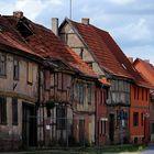 Häuserzeile in Thüringen