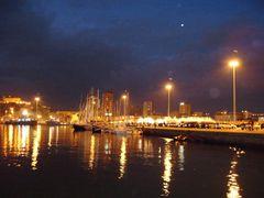 Hafen auf Sardinien