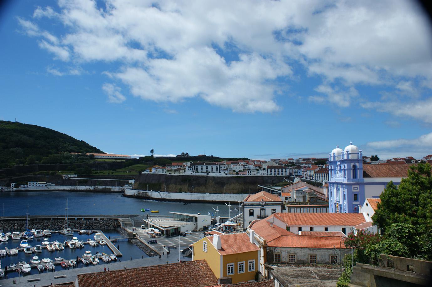 Hafen auf Terceira