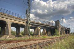 Hafen City Alte Bahnbrücke