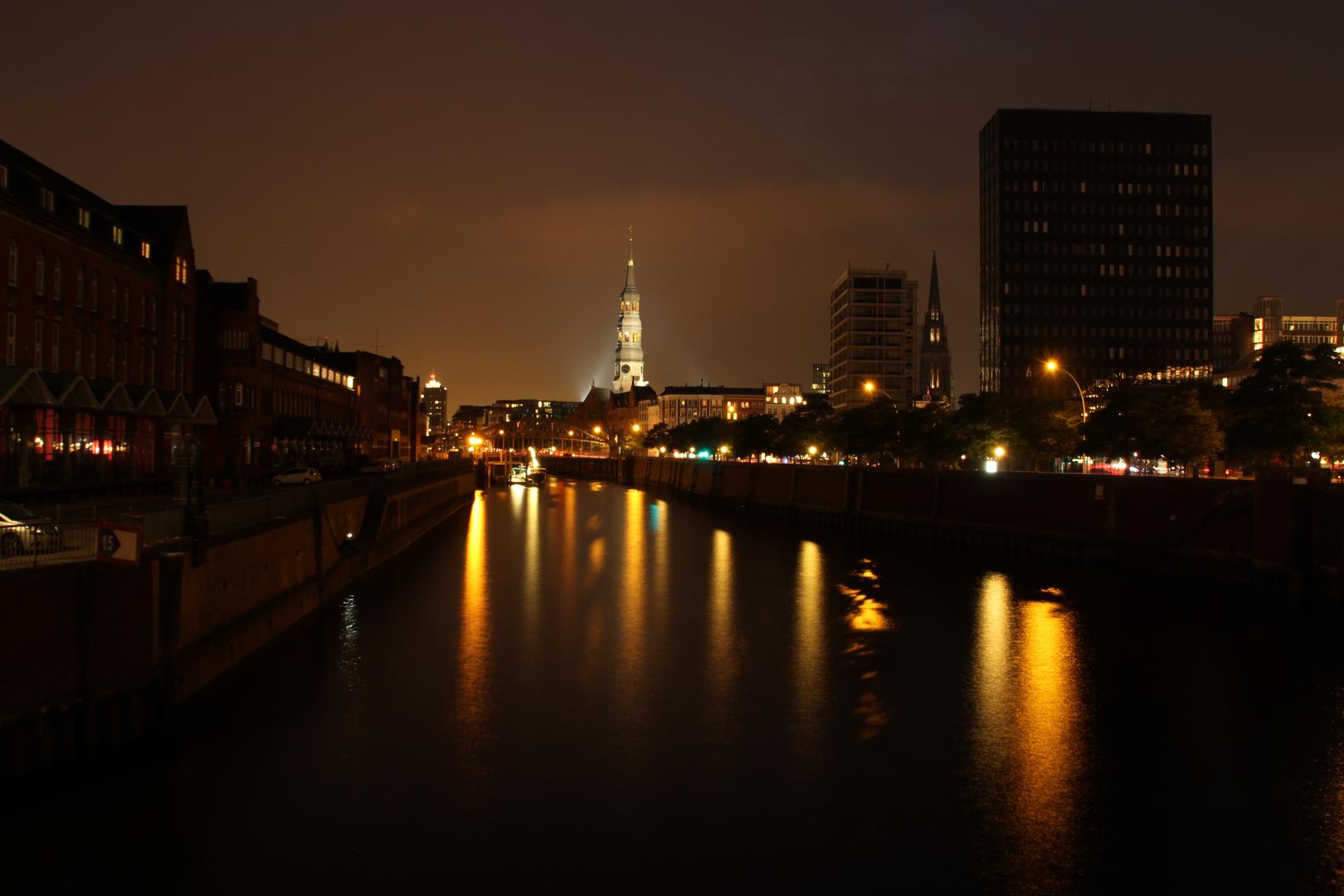 Hafen City - Blaue Stunde III