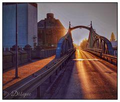 Hafen -Drehbrücke Krefeld Uerdingen
