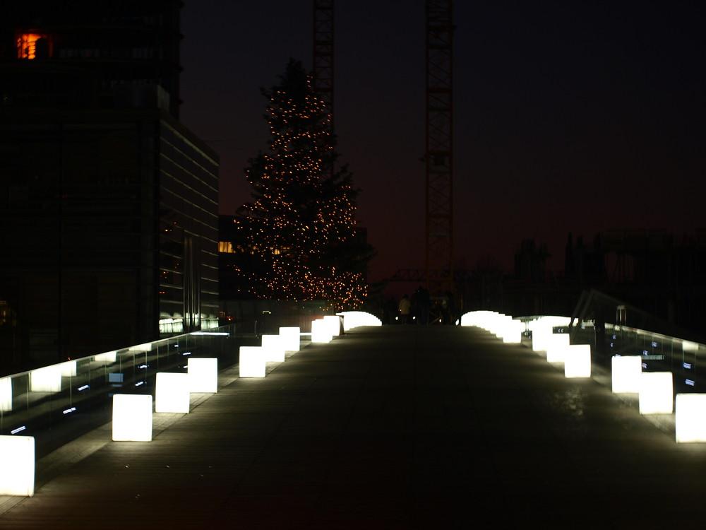 Hafen Düsseldorf am 2. Weihnachtsfeiertag
