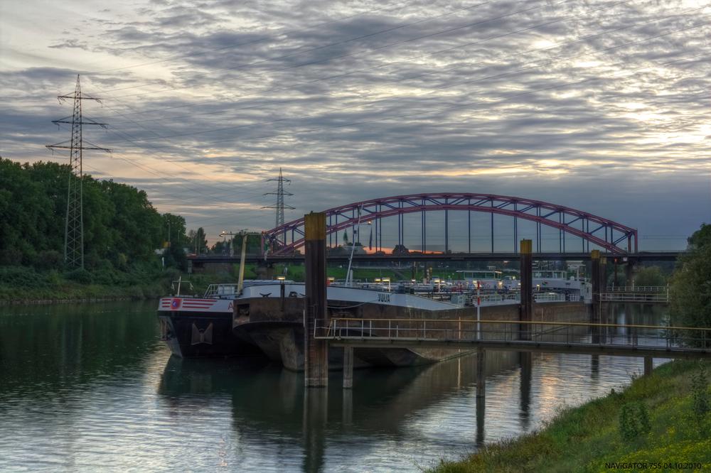 Hafen Duisburg IV. / HDR