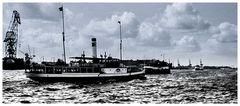Hafen Hamburg 1954