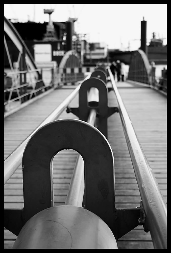 Hafen Hamburg B&W II