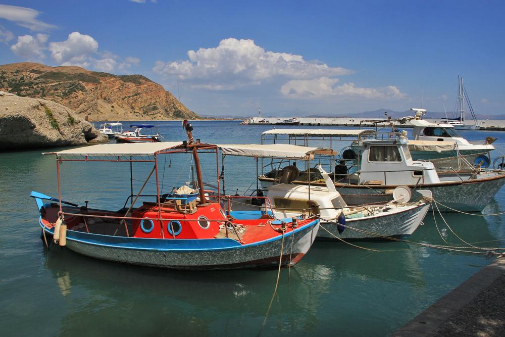 Hafen in Agia Galini