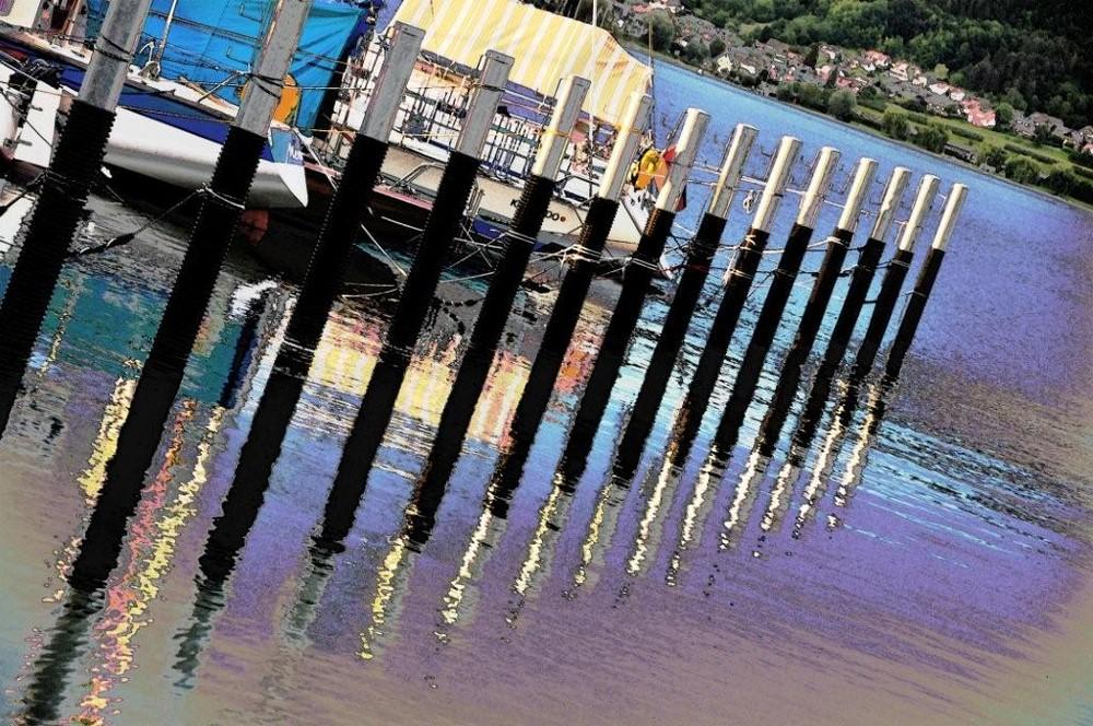 Hafen in Bodman