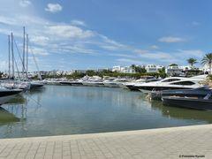 Hafen in Cala Ferrera