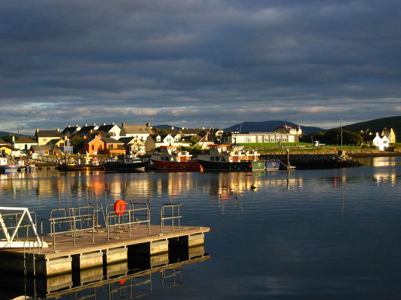 Hafen in Dingle