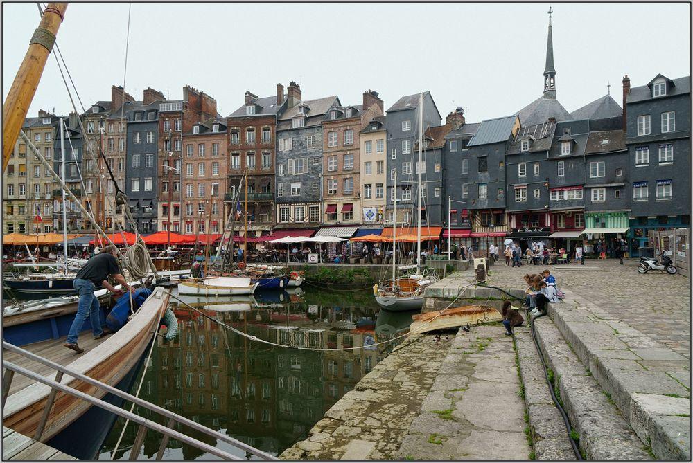 Hafen in Honfleur