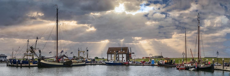 Hafen  in Oudeschild auf Texel