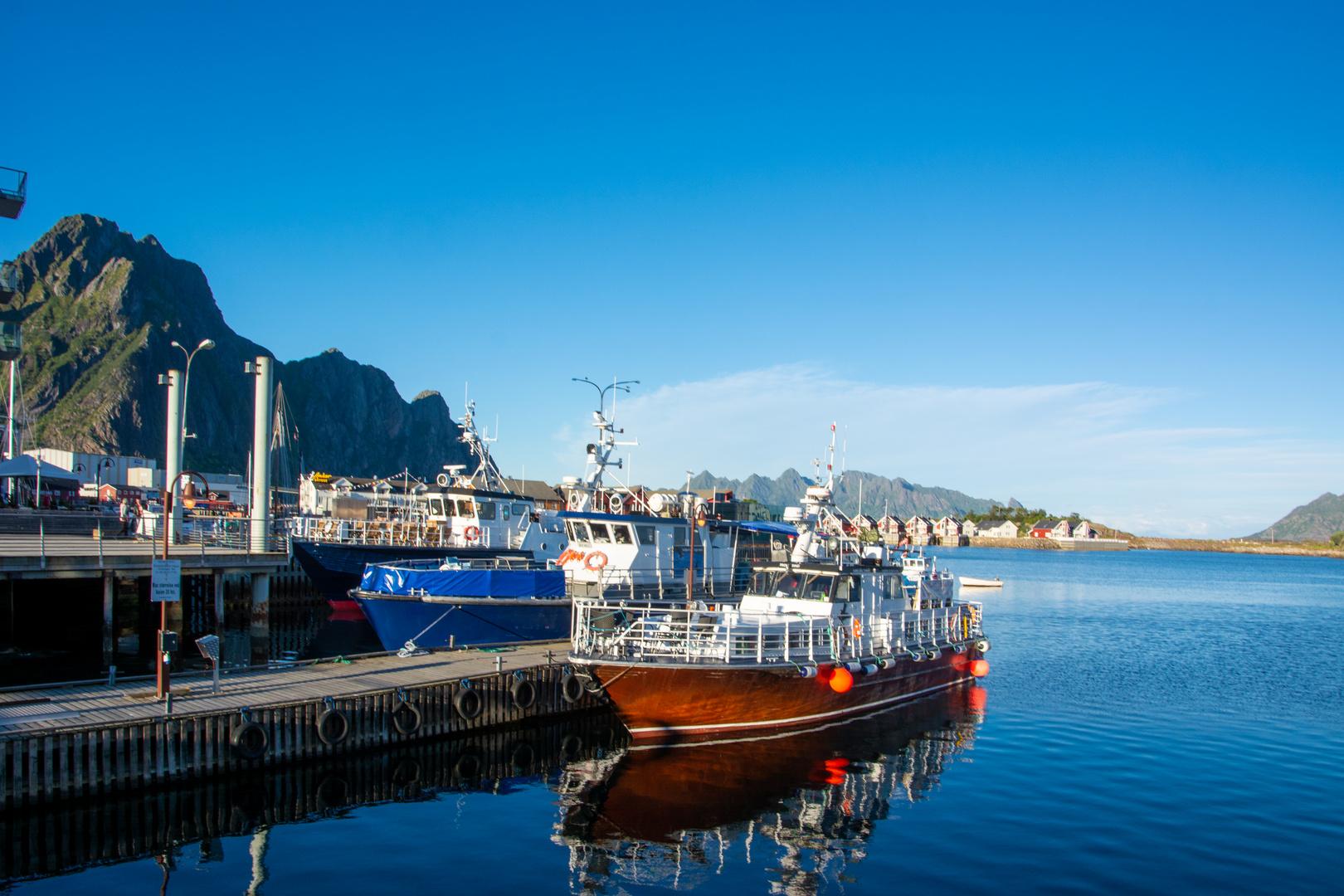 Hafen in Svolvær