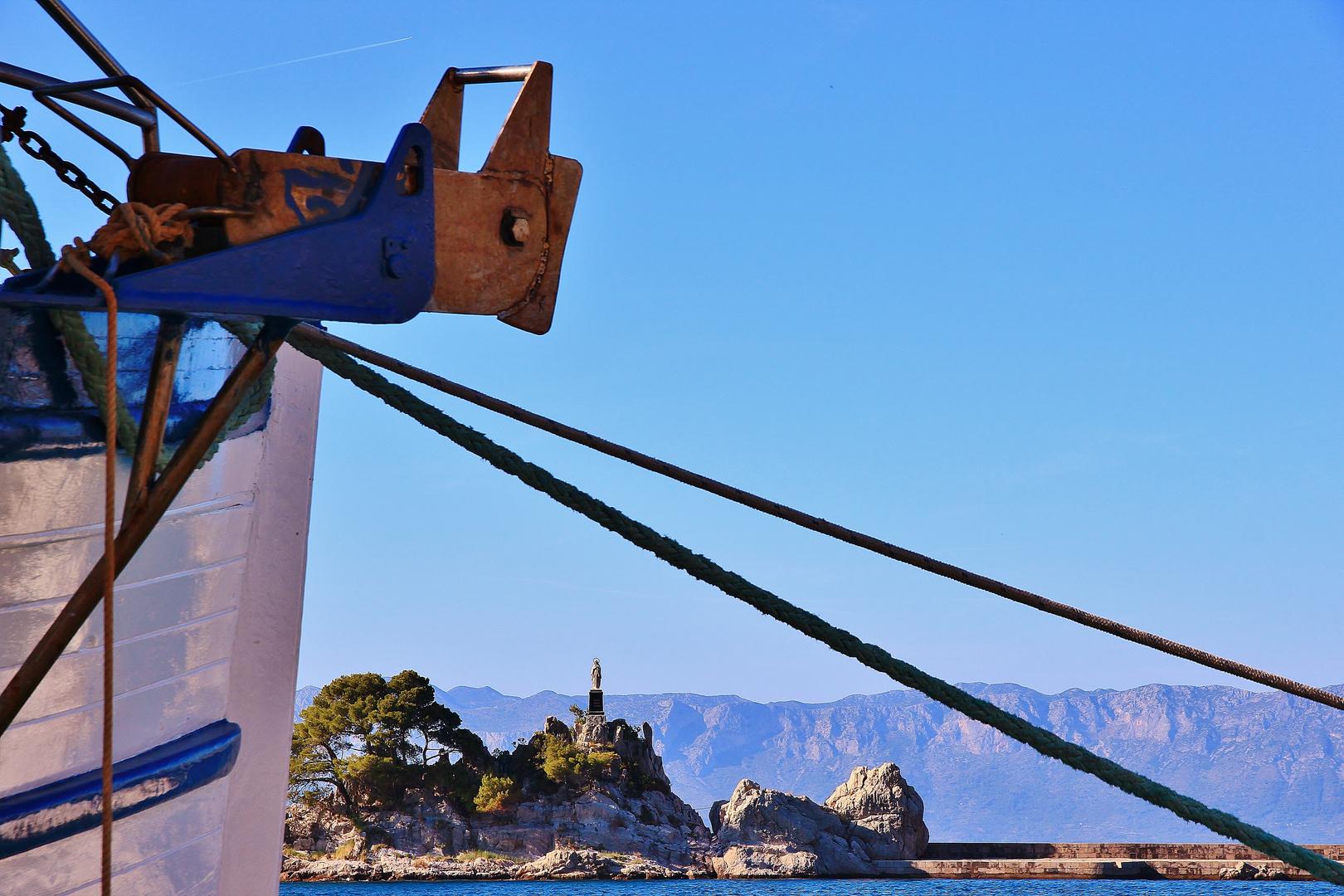 Hafen in Trpanj