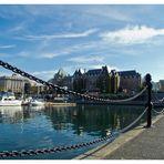 Hafen in Victoria II, auf Vancouver Island, British Columbia