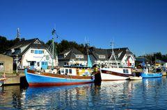 Hafen in VItte/Insel Hiddensee