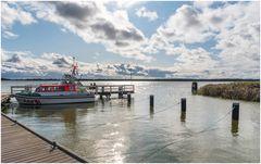 Hafen in Wiek