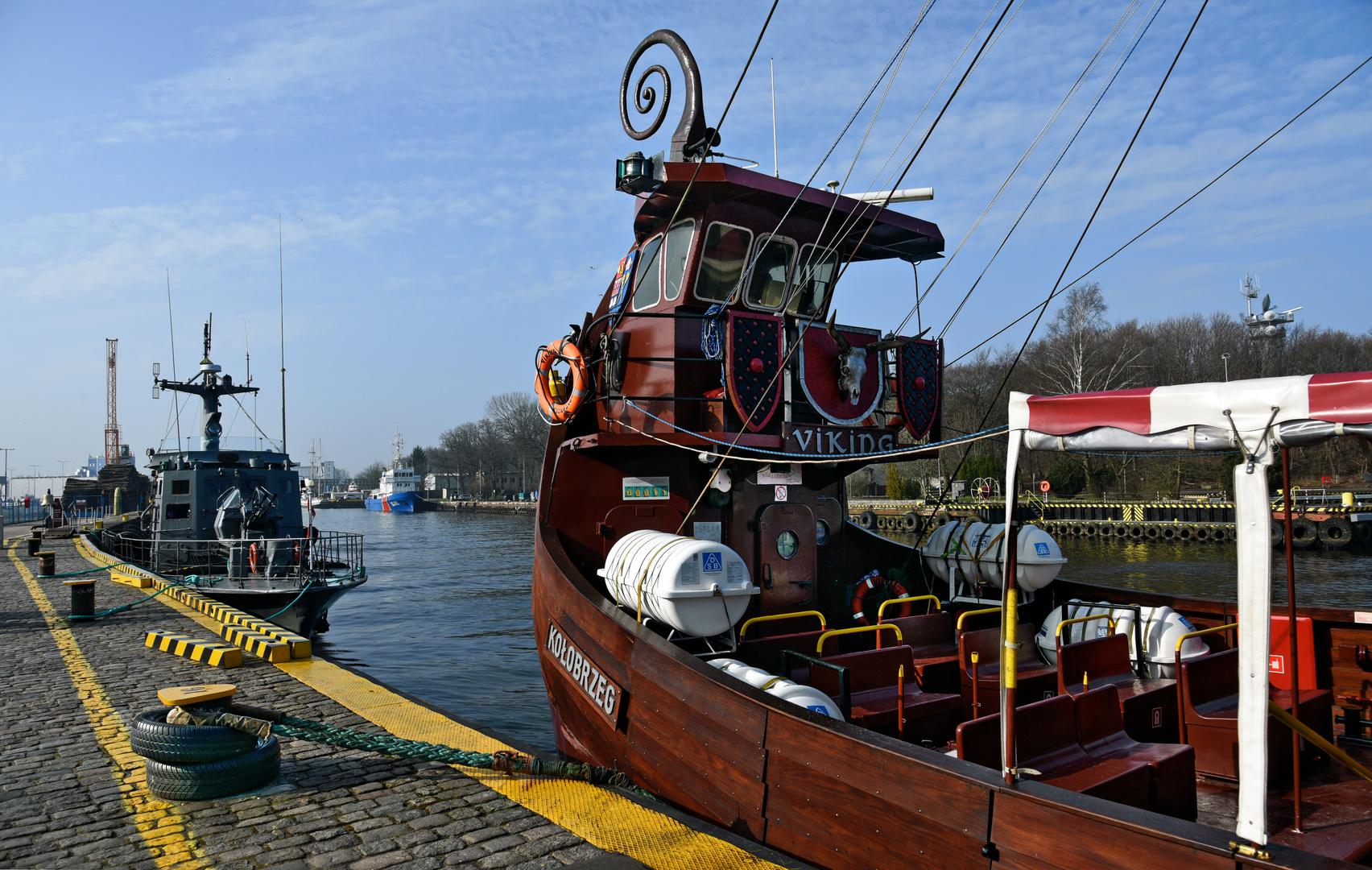 Hafen Kolberg/Kolobrzeg- Polen -