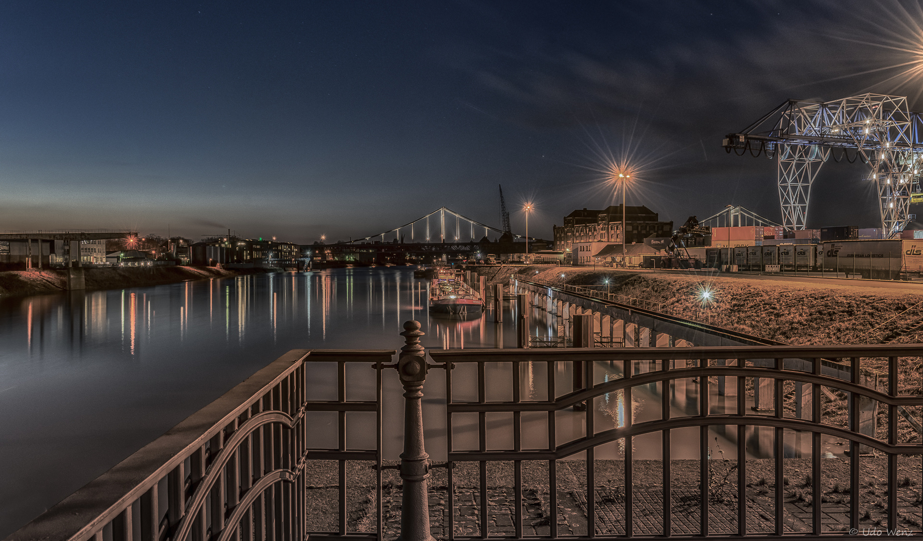 Hafen Krefeld Uerdingen Foto Bild World Hafen Rhein