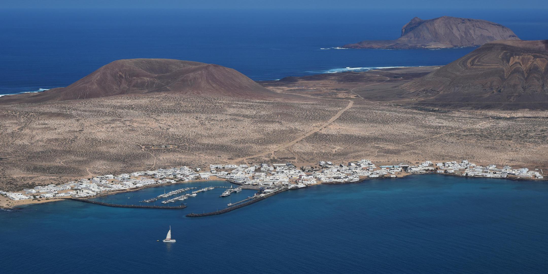 Hafen La Graciosa