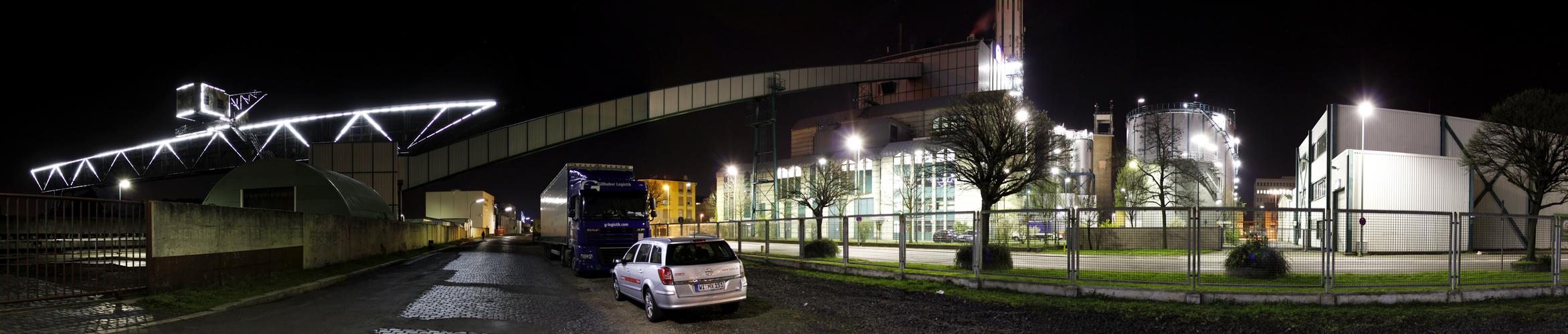 Hafen Offenbach Panorama