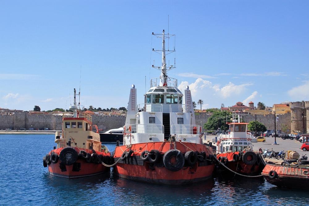 Hafen Rhodos-Stadt