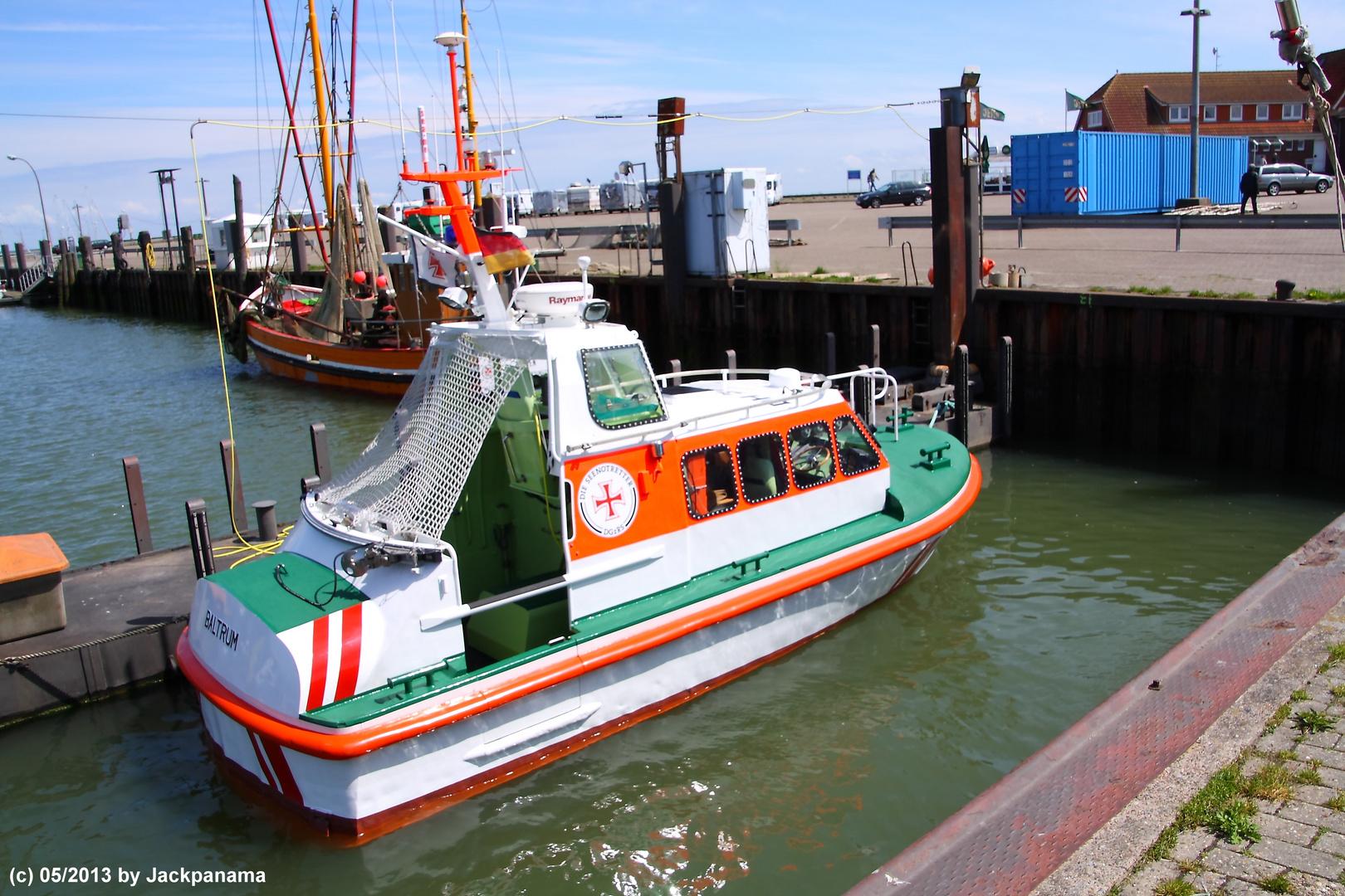 Hafen und Seenotrettung in Horumersiel