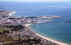 Hafen und Strände von St. Helier, Jersey