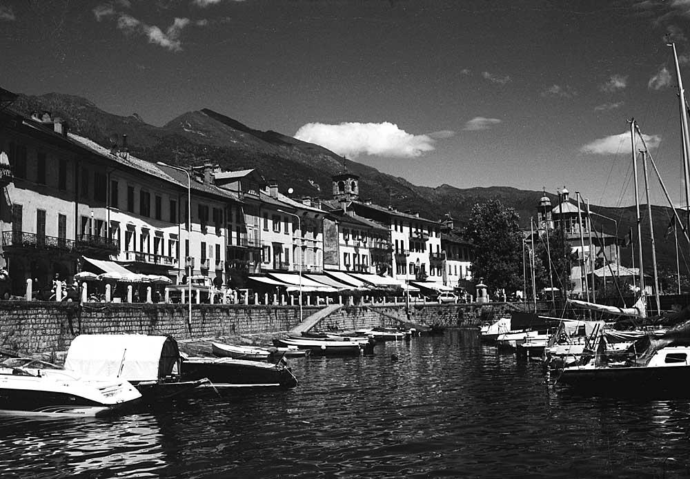 Hafen von Canobbio (Lago Maggiore)
