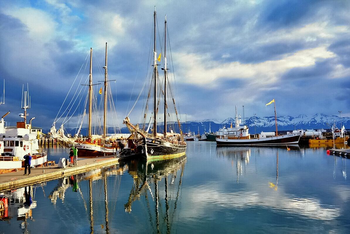 Hafen von Húsavík