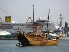 Hafen von Muscat- Oman