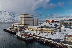 Hafen von OKSFJORD /Finnmark/NOR)