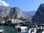 Hafen von Omis/dalmatien