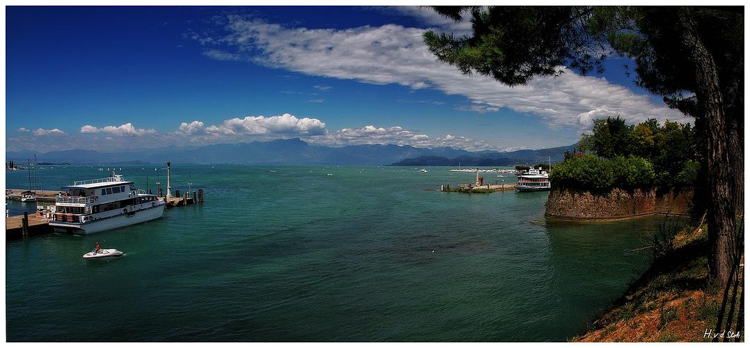 Hafen von Peschiera