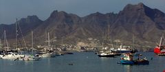Hafen von  Praia/Santiago      Kap Verden