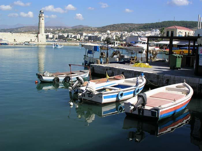 Hafen von Rettimon ( Kreta)