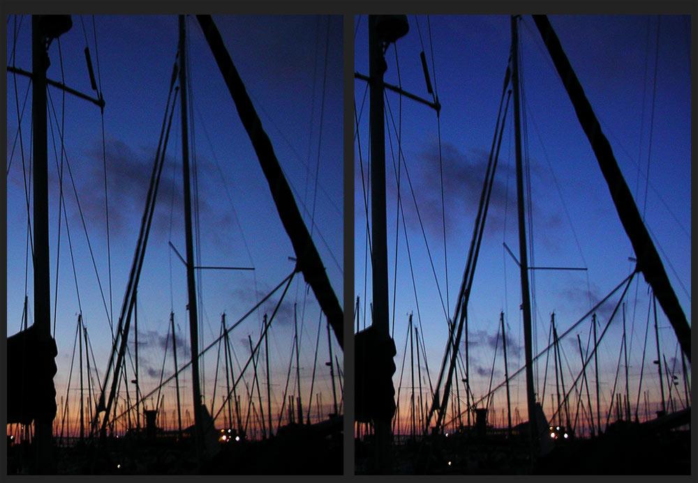 Hafenabend