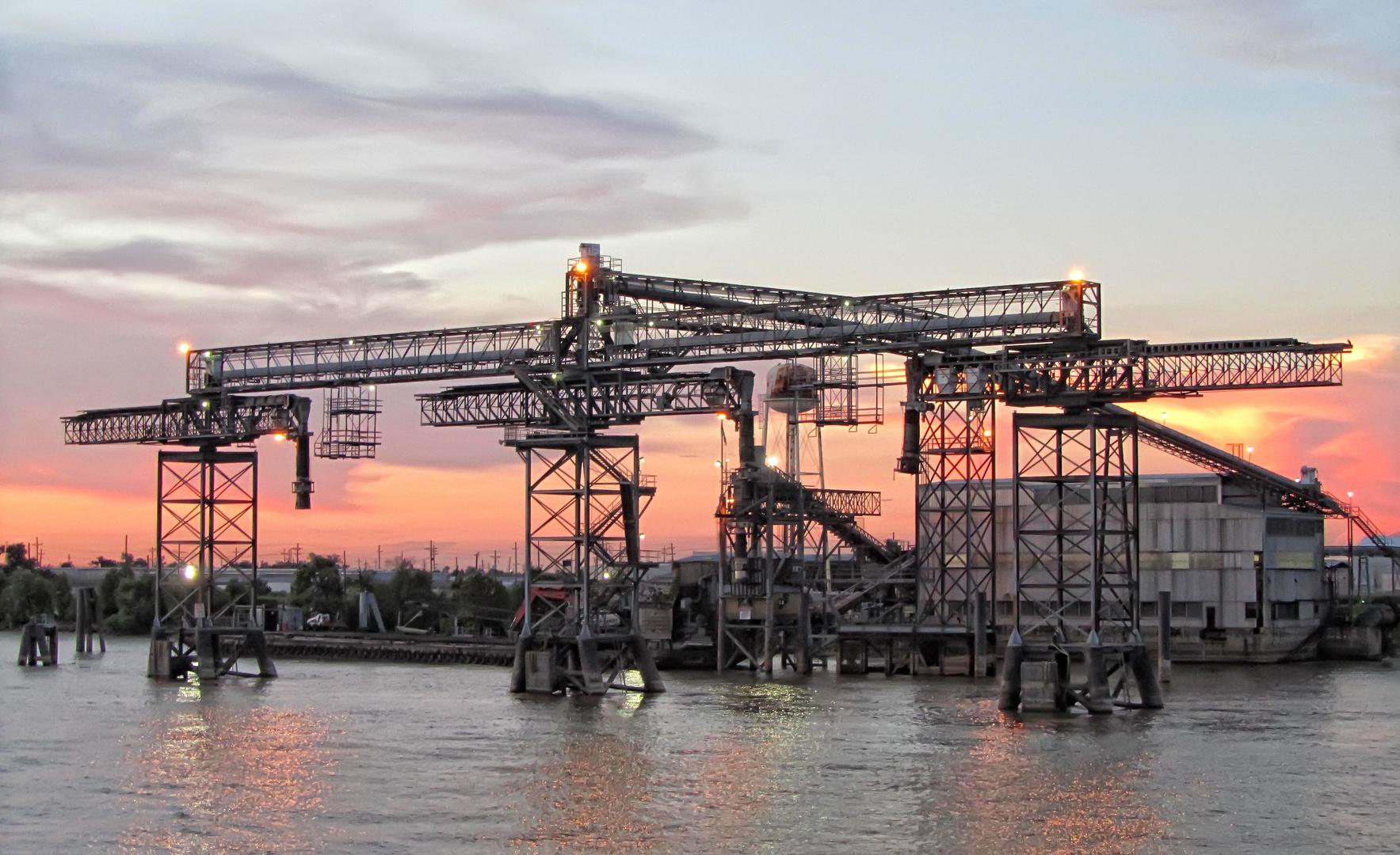 Hafenanlage New Orleans