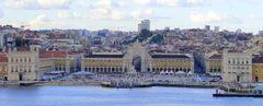 Hafenausfahrt....Lissabon