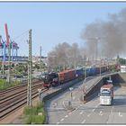 Hafenbahn unter Dampf