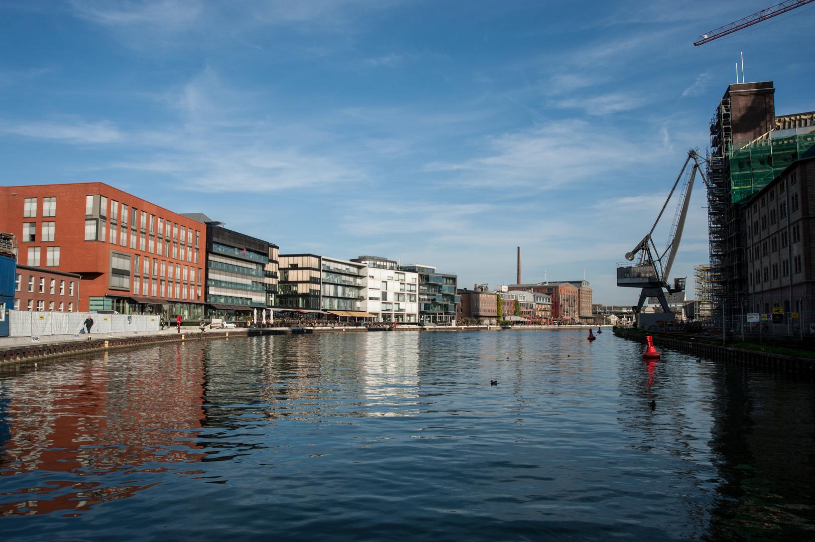 Hafenbecken von Münster