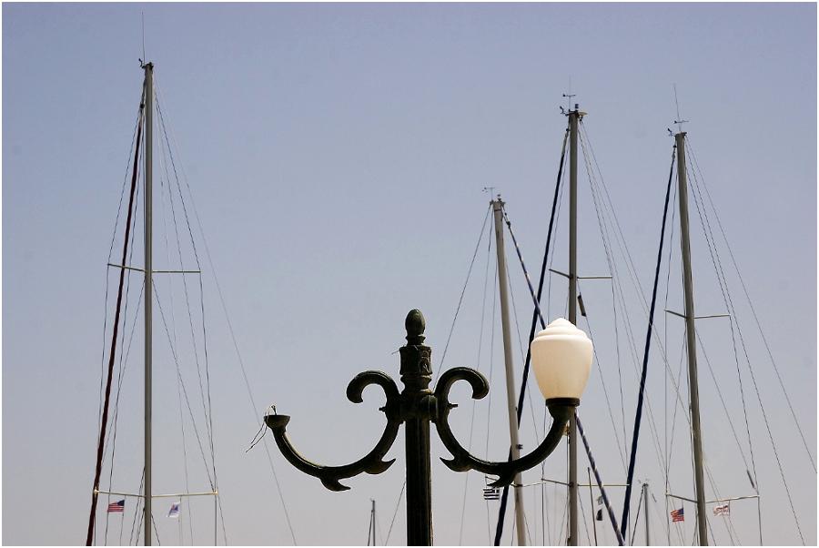 Hafenbeleuchtung