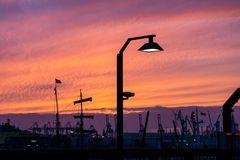 Hafenbeleuchtungen