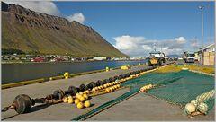 Hafenbetrieb...