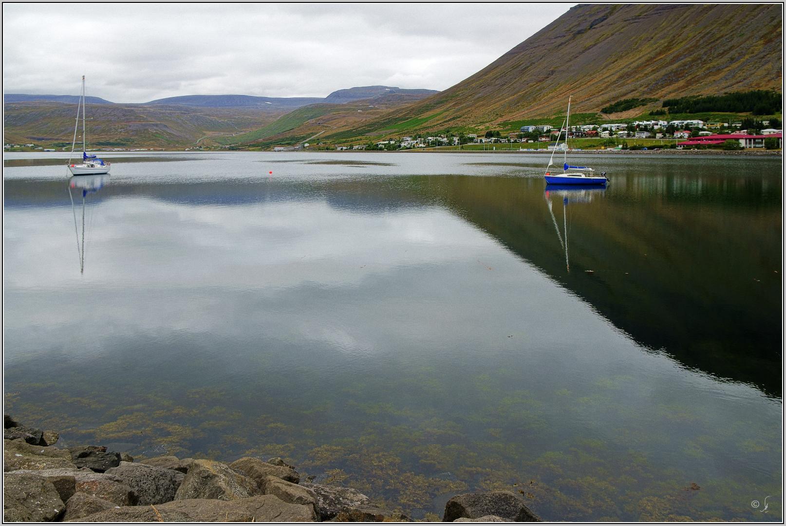 Hafenbild aus Isafjördur