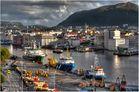 ... Hafenblick Bergen ...