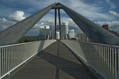 Hafenbrücke in Düsseldorf