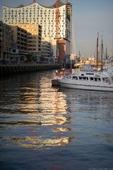 Hafencity bei Sonnenaufgang